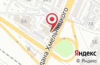 Схема проезда до компании Домикс в Астрахани