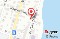 Схема проезда до компании Лисина лавка в Астрахани