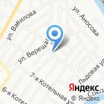 Астракейтеринг на карте Астрахани
