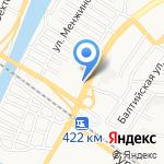 Овощной на карте Астрахани