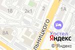 Схема проезда до компании Овощной в Астрахани