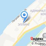 Сандрэ на карте Астрахани
