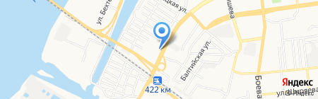 Пивное Ассорти на карте Астрахани