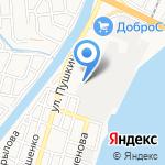 Хлебозавод Наримановский на карте Астрахани