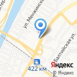 Лига пива на карте Астрахани