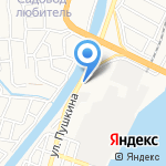 Эльбрус на карте Астрахани