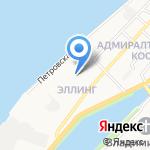 Бриз на карте Астрахани