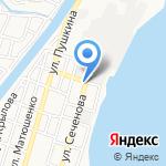 Семья на карте Астрахани