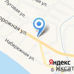 Камила на карте Астрахани