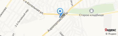 Pit line на карте Астрахани