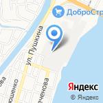 Карбон на карте Астрахани