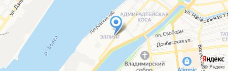 Санта-Барбара на карте Астрахани