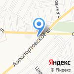 Эктоойл на карте Астрахани
