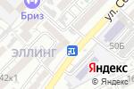 Схема проезда до компании Санта-Барбара в Астрахани