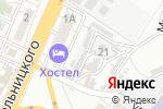 Схема проезда до компании Автобан в Астрахани