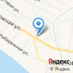 Экономь на карте Астрахани