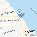 Магазин стройхозтоваров на карте Астрахани