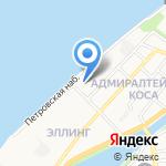 Каспрыба-Трейд на карте Астрахани