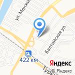 Золотой Дракон на карте Астрахани
