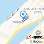 Павильон 626 на карте Астрахани