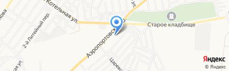 АТА на карте Астрахани