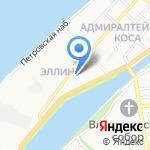 Детский сад №41 на карте Астрахани