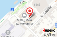 Схема проезда до компании Центр межевания, градостроительства и кадастра в Астрахани