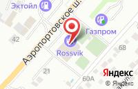 Схема проезда до компании Федерация тенниса в Астрахани
