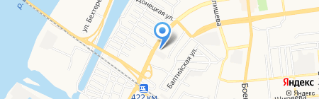 Служба эвакуации автотранспорта на карте Астрахани