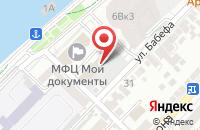 Схема проезда до компании Впусти кота в Астрахани