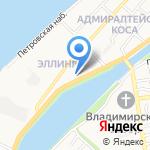 Япошка на карте Астрахани