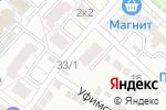 Схема проезда до компании СК Инвест-Строй в Астрахани
