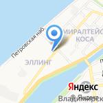 АБСТ на карте Астрахани
