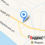 Фирюза на карте Астрахани