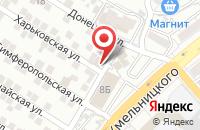 Схема проезда до компании Восток-Сервис в Астрахани
