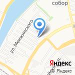 Восток-Сервис на карте Астрахани