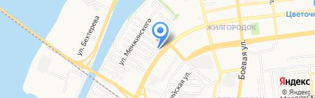 Евросвет на карте Астрахани