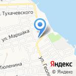 БИБИВЭЛ на карте Астрахани
