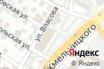 Схема проезда до компании Евросвет в Астрахани