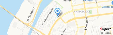 Для Авто на карте Астрахани