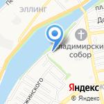 Фонд социального страхования РФ на карте Астрахани