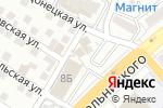 Схема проезда до компании Для Авто в Астрахани