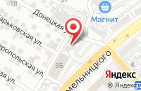 Схема проезда до компании Цивилист в Астрахани