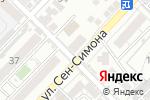 Схема проезда до компании Афродита в Астрахани