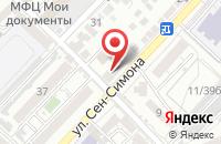 Схема проезда до компании #ДРУЖОК в Астрахани