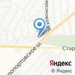 В & В на карте Астрахани