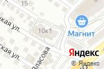 Схема проезда до компании Тиара в Астрахани
