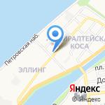 ICE BEER на карте Астрахани