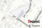Схема проезда до компании Детский сад №104 в Астрахани