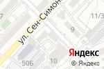 Схема проезда до компании Comprome в Астрахани